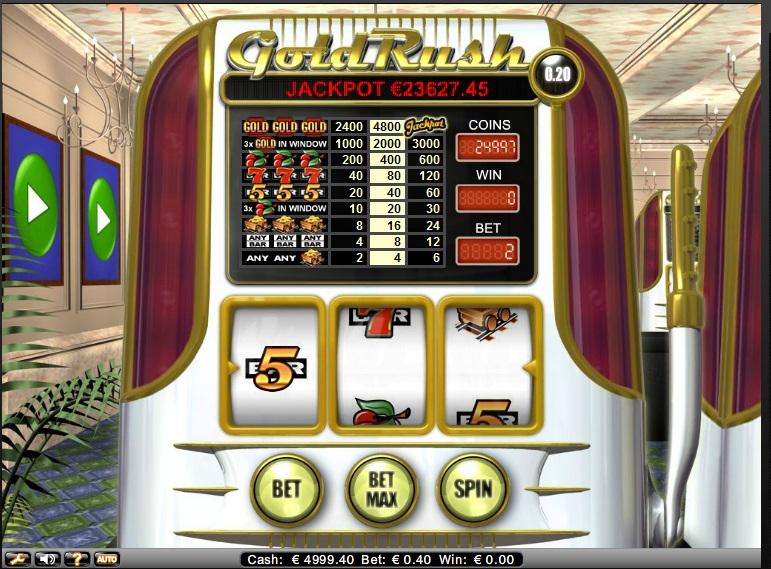 Gold Rush gokmachine