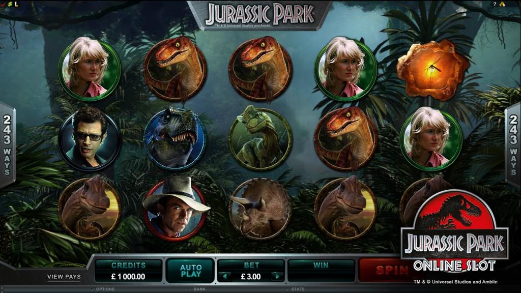Jurassic Park online gokkast