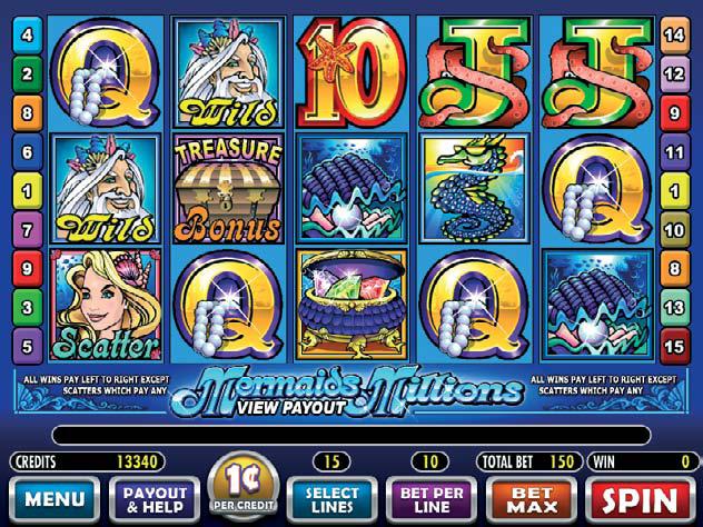 Mermaids Millions gokkast
