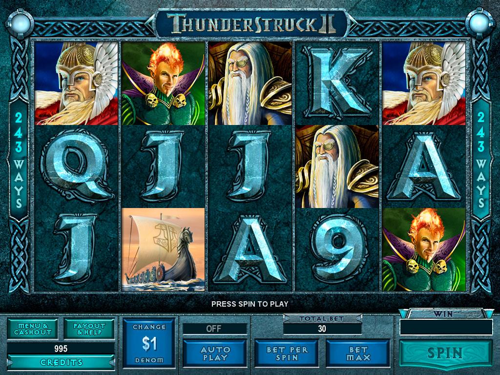 Thunderstruck 2 gokautomaat