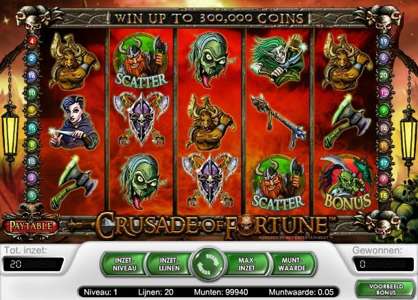 Crusade of Fortune gokmachine