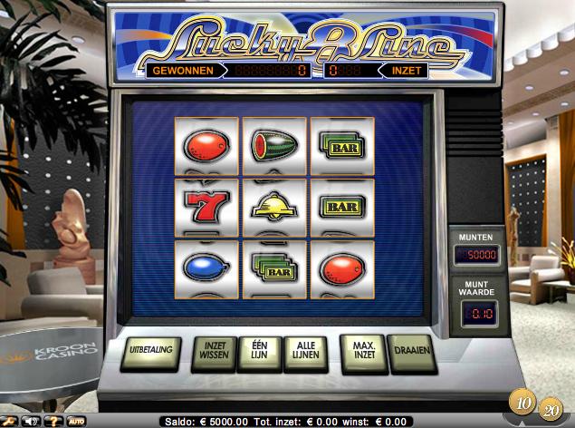 Lucky 8 Line fruitautomaat