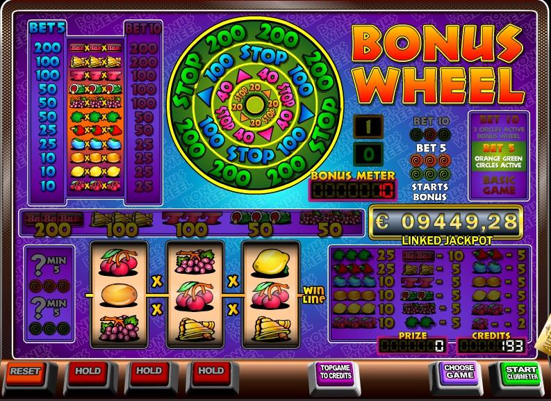 Bonus Wheel schermafbeelding