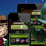 mobiel gokken bij Comeon