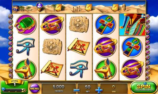 Slots Pharao's fire voor de iPhone