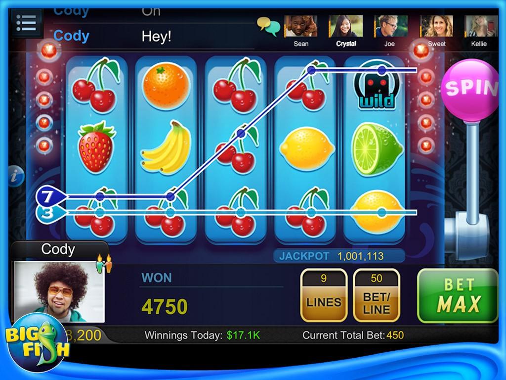 Big Fish Casino Spintonic gokkast