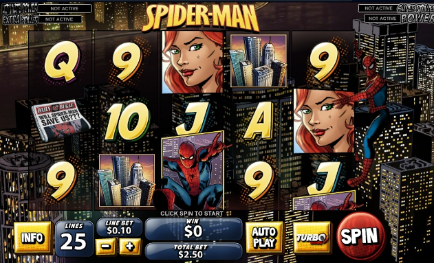 Spiderman gokkast review