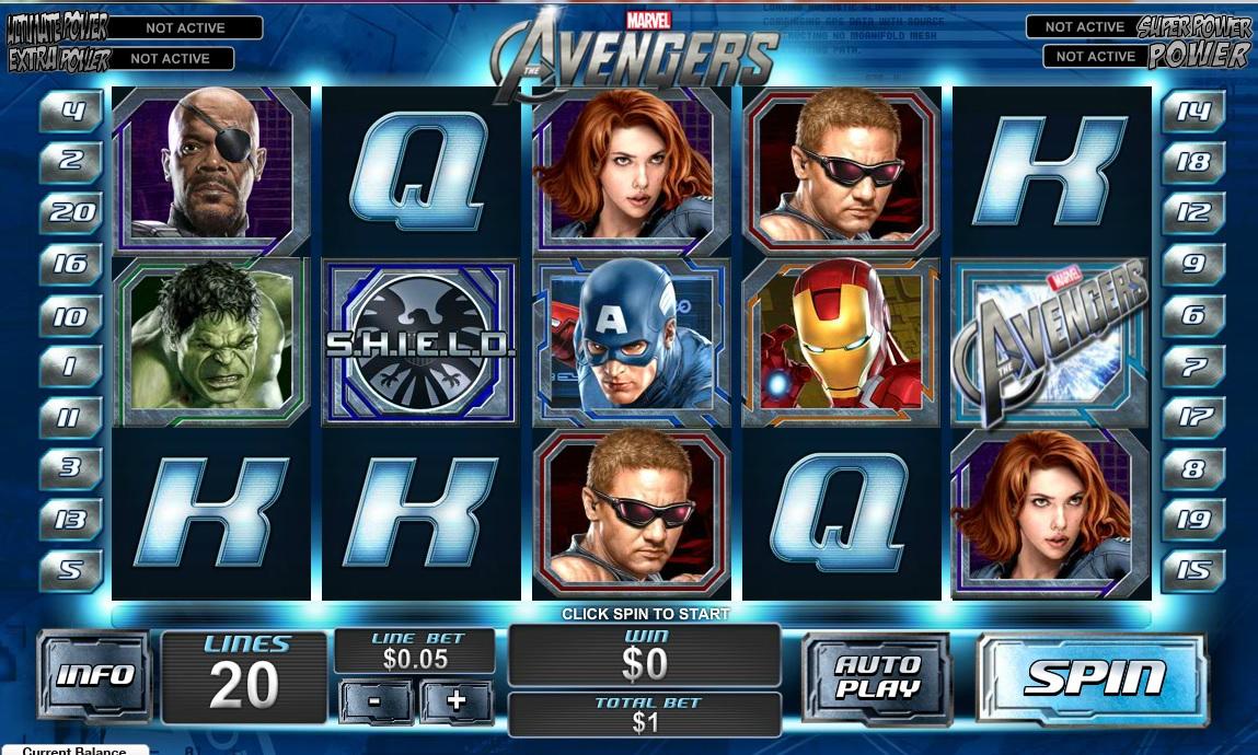 The Avengers Gokkast