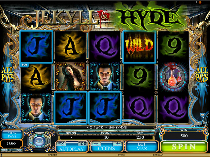 Jekyll and Hyde videoslot