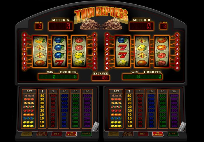 Twin Express speelautomaat