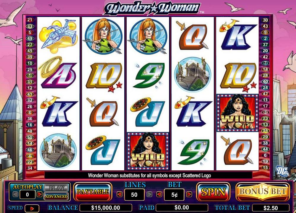 Wonder woman gokkast