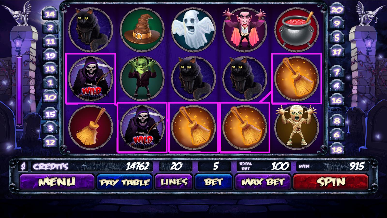 Halloween app van Gamma Play