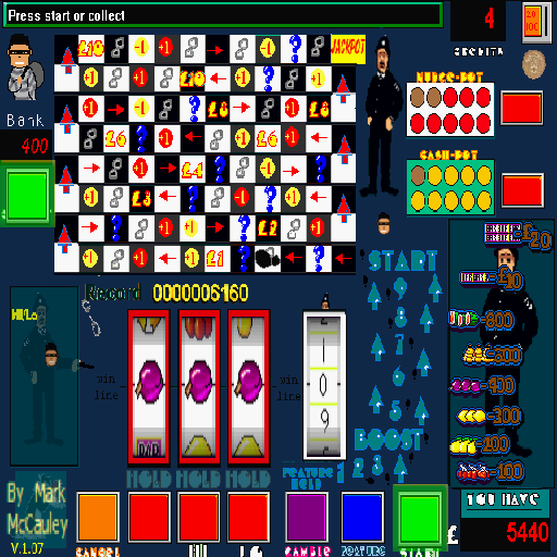 Cops n Robbers Slot machine app screenshot 2