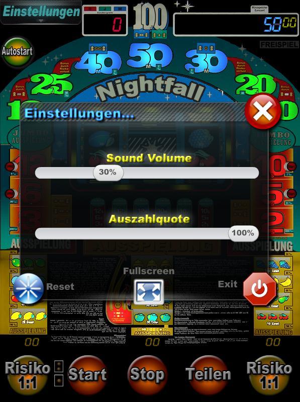 Nightfall screenshot op iPhone