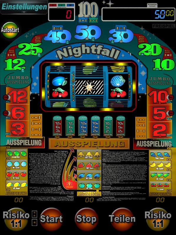 Nightfall screenshot