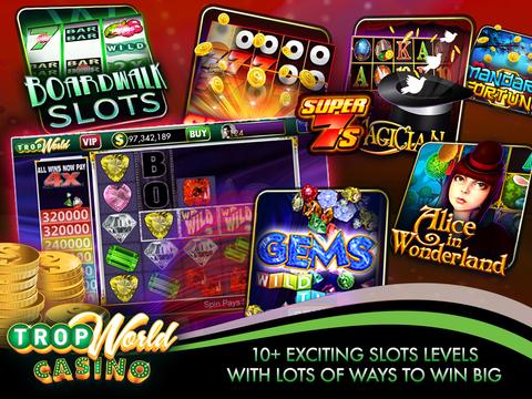 TropWorld Casino app
