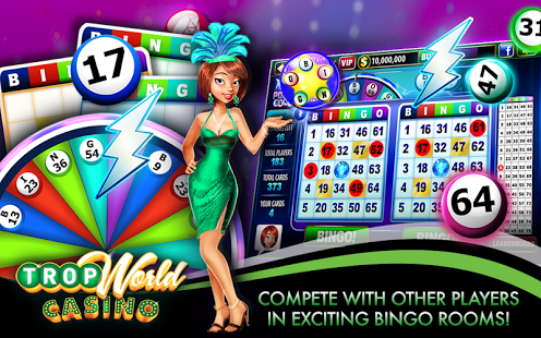 Tropworld casino bingo games